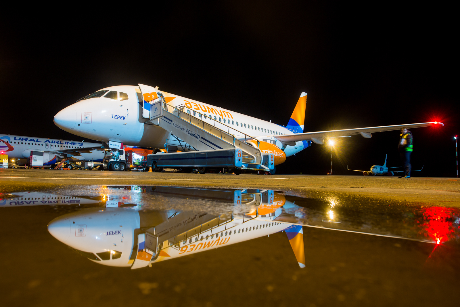 Azimuth Airline launched flights to Tyumen